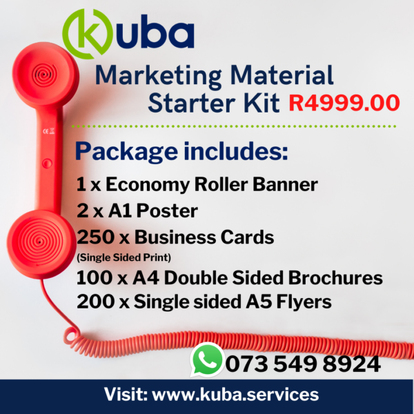 Marketing Material Starter Kit