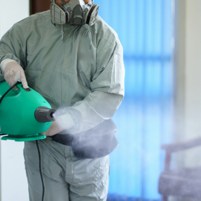 cleaning & disinfected